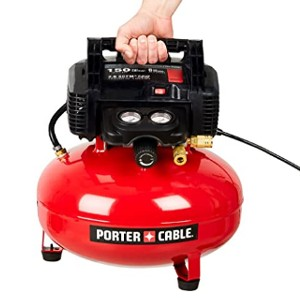 PORTER-CABLE C2002 - Best Air Compressors for Air Tools: For low maintenance
