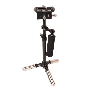 CAME-TV P06 Carbon Fiber Stabilizer - Best Camera Stabilizers for Cinema Camera: Foldable Gimbal