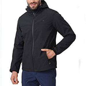 CAMEL CROWN Outdoor Jackets for Casual Work - Best Raincoats for Work: Multiple pockets for store things