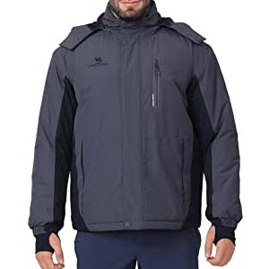 CAMEL CROWN Ski Jacket Men Raincoat - Best Raincoats for Iceland: The right gear is here