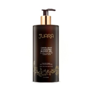 Juara CANDLENUT HYDRATING SHOWER GEL - Best Shower Gel for Dry Skin: Gel Consistency that Hydrates and Smooths the Skin