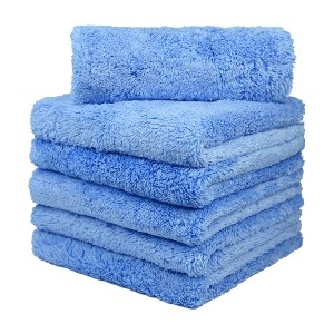 CARCAREZ Microfiber Towels for Cars - Best Towel to Clean Car Windows: Extra Thick Towel