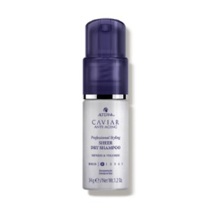 Alterna CAVIAR  - Best Dry Shampoo for Curly Hair: Adds Texture and Volume