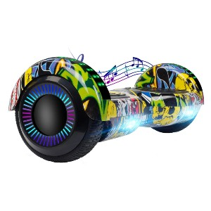CBD Bluetooth Hoverboard for Kids - Best Hoverboard Under $200: No worry about safety