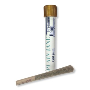 Plain Jane CBD Flower Pre-rolled Joints - Best CBD Pre-Rolls for Pain: Made of Fresh, Ground-Up Hemp Flower