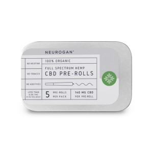 Neurogan CBD Pre-Roll - Best CBD Pre-Rolls for Pain: Healthy Inflammatory Function