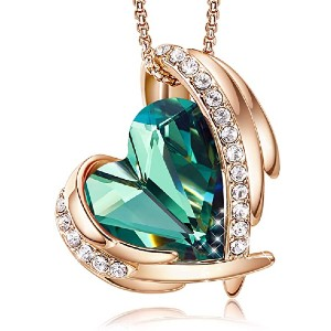 CDE Love Heart Pendant Necklaces - Best Jewelry for Teenage Girl: Best for luxurious look