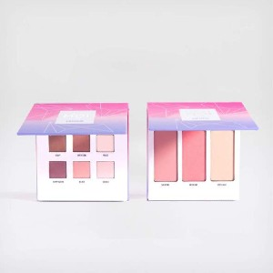 C'EST MOI Double The Fun Eye & Cheek Palettes - Best Eyeshadow Palette for Beginners: Gorgeous Eyeshadow and Cheek Palette