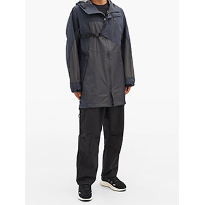 Y-3 CH1 Terrex harnessed technical hooded parka - Best Raincoats Under 1000: Tricot Panels and Waterproof