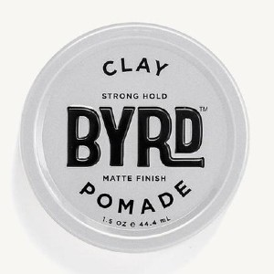 BYRD CLAY POMADE - Best Pomade for Thin Hair: Adds Volume to Fine Hair