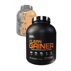 Rival Nutrition Clean Gainer - Best Mass Gainer Protein: Essential Fats from Flax, Avocado, and Sunflower
