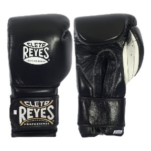 CLETO REYES Hook Loop Training Gloves  - Best Boxing Gloves for Beginners: Interior Water-Repellent Lining