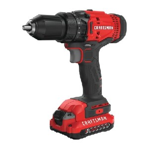 CRAFTSMAN CMCD700C1 - Best Drill Cordless: Produces 280 Unit Watts Out