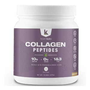 TeamKeto COLLAGEN PEPTIDES PROTEIN - Best Collagen Powder for Cellulite: Beneficial to All Connective Tissues in the Body