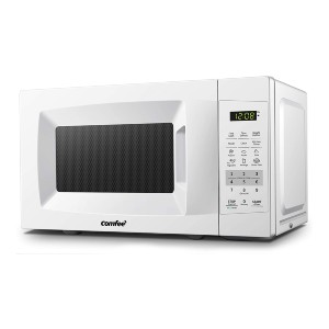 COMFEE' EM720CPL-PM Countertop Microwave Oven - Best Microwave for Dorm: One touch expresses cooking