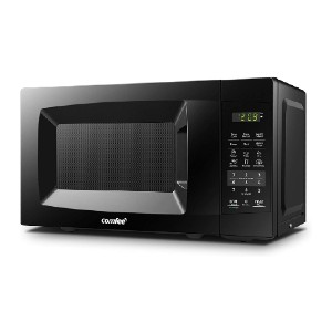 COMFEE' EM720CPL-PMB Countertop Microwave Oven  - Best Microwave Under 100: One touch expresses cooking