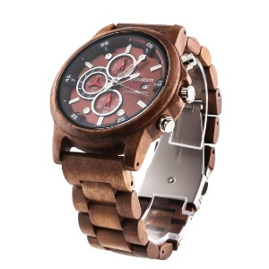 Woodbests Commander - Best Wooden Watches Under $100: It has everything you want