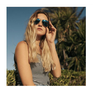 Randolph CONCORDE - 22K ROSE GOLD - Best Sunglasses Made in USA: Anti-Reflective & Blue Wave™ Lens Technology