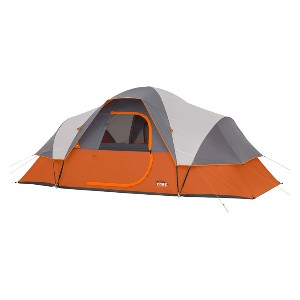 CORE 9 Person Extended Dome Tent - Best Tents Under $200: Spacious Tent for Family Camping