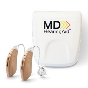 MDHearingAid CORE - Best Hearing Aid for Elderly:  Excellent application