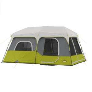 CORE Instant Cabin Tent - Best Easy Set Up Tents: Huge Tent with Room Divider