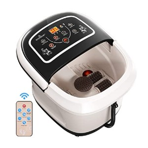 COSTWAY Foot Bath Tub  - Best Foot Spa with Automatic Rollers: With a remote control!