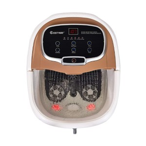 COSTWAY Foot Bath Massager - Best Foot Spa for Neuropathy: Quick and easy
