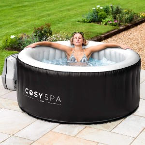 COSYSPA Inflatable Hot Tub Spa - Best Two-Person Hot Tubs: Hot Tub with Premium Accessories