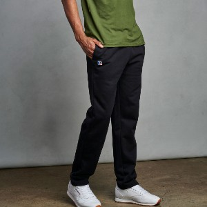 Russell Athletic COTTON RICH 2.0 - Best Sweatpants for Tall Men: Side Entry Pockets for Convenient, Small-Item Storage