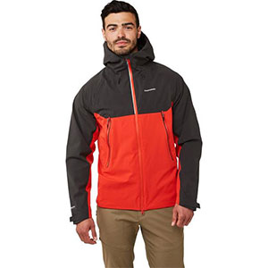 CRAGHOPPERS Men's Trelawney  - Best Rain Jackets for Heavy Rain: Active Fit Cut and Articulation in The Sleeves