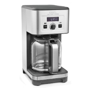 CRUX Artisan Series 14-Cup Programmable Coffee Maker - Best Coffee Machine for Home: Specially Programmed Cleaning Cycle Makes for Easy Clean Up