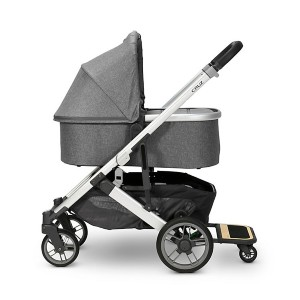 UPPAbaby Cruz V2  - Best Strollers for Newborns: Stands Independently when Folded