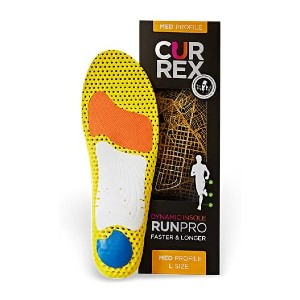 CURREX World's Leading Insoles for Running Shoes - Best Insoles for Running: Odor-Control Feature