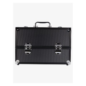 Caboodles Primped & Polished Train Case - Best Makeup Train Case: Feature Plenty of Space for All Essential Makeup