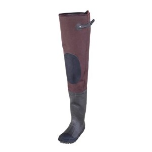 Caddis Wading Systems Men's 2 Ply Rubber Hip Boots  - Best Hip Waders for Fishing: Best for all weather conditions