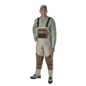 Caddis Wading Systems 2-Tone Tauped Deluxe Stocking Foot Wader - Best Waders for Fishing: Not easily torn
