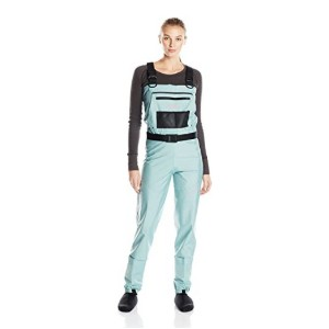 Caddis Wading Systems Attractive Teal Deluxe Stocking Foot Wader - Best Waders for Women: Trendy design