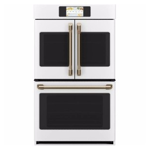 CAFE 30 in. Smart Double Electric French-Door Wall Oven - Best High End Wall Oven: Best French-door style
