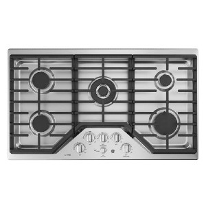 CAFE CGP9536SLSS Gas Cooktop Stainless Steel - Best 5 Burner Gas Cooktops: Ticks all the boxes