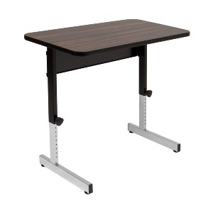 Calico Designs Adapta Height Adjustable Office Desk - Best Standing Desk for Short Person: Thick Standing Desk