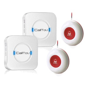 CallToU Wireless Caregiver Pager Smart Call System - Best Safety Alert System for Seniors: Best for both caregivers and patients