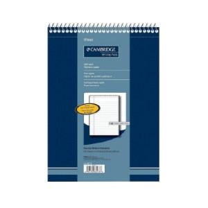 Mead Cambridge Premium Note Pad - Best Notebooks for College: Durable Protective Cover for Practical Use