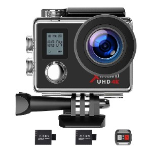 Campark 4K WiFi Ultra HD - Best GoPro for Vlogging: Wireless Remote Control