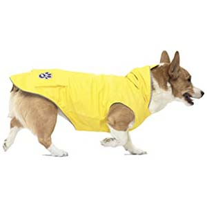 Canada Pooch Torrential Tracker Dog Raincoat - Best Raincoats for Corgis: It fits perfectly