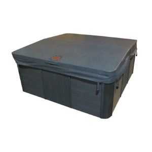 Canadian Spa Co Rectangular 5 in/3 in Tapered Spa Cover - Best Hot Tub Cover: UV and Mildew Resistant Hot Tub Cover
