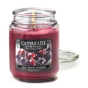 Candle Lite Juicy Black Cherries - Best Scented Candles: Gorgeous color