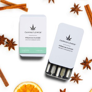 Cannaflower Calm - Best CBD Pre-Rolls for Anxiety: Kick back, Relax and Just Breathe