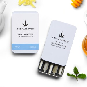 Cannaflower Rest - Best CBD Pre-Rolls for Sleep: A Lovely Way to Unwind At The End of A Long Day