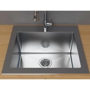 Cantrio Koncepts Drop-in Laundry Sink - Best Laundry Room Sinks: Soundproofing Sink