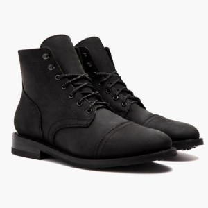 Thursday Boots Captain - Best Boots with Jeans: Fully Lined Supple Glove Leather Interior